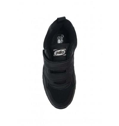 Pallas School Shoe Jazz Single Velcro Strap 205-0200