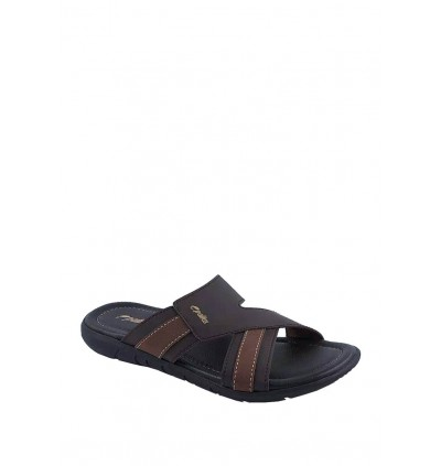 Pallas Freetime Slipper 717-0804 Dark Brown