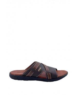 Pallas Freetime Slipper 717-0806 Dark Brown