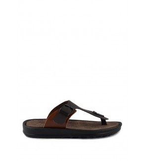 Pallas Freetime Slipper 715-0214 Dark Brown
