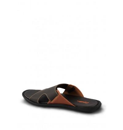 Pallas Freetime Slipper 717-0802 Dark Brown