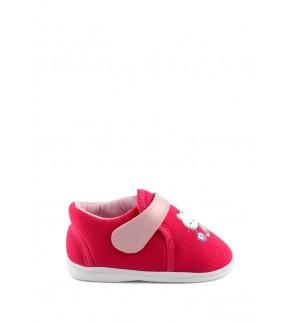 Pallas x Hello Kitty Toddler Girls Shoe HK01-010 Raspberry Pipi Walking
