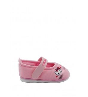 Pallas x Hello Kitty Toddler Girls Shoe HK01-011 Pink  Pipi Walking
