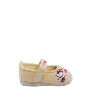 Pallas x Hello Kitty Toddler Girls Shoe HK01-011 Beige  Pipi Walking
