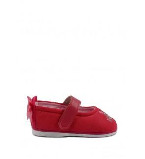 Pallas x My Melody Toddler Girls Shoe MY01-001 Raspberry Pipi Walking