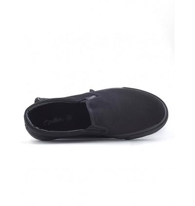 Pallas Jazz Slip On 407-0112 All Black
